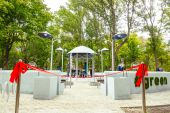 В Харькове открыли инновационную зону отдыха GREEN ZONE с хангом и звездным небом
