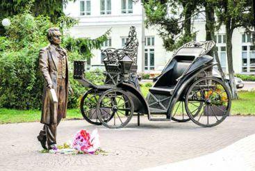 В Глухове открыли необычный памятник Шевченко