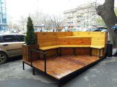 В Одессе создали первый парклет