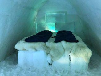 Отель из льда и снега. Впервые в Украине!