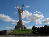 Открыли обзорную площадку на монументе «Родина-мать»