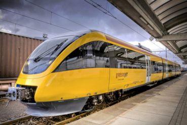 RegioJet запустил маршрут из Закарпатья в Чехию