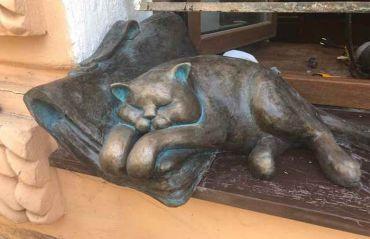 Коты Одессы: появились новые украшения одесских улиц
