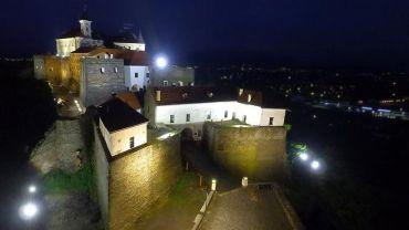 В замке «Паланок» обустроили новую подсветку