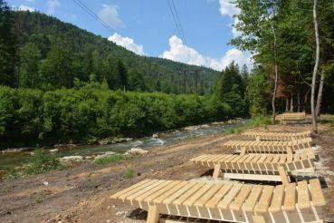 В Ивано-Франковской области открылась новая территория для отдыха