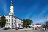 У Дрогобичі призупинили реконструкцію головної площі