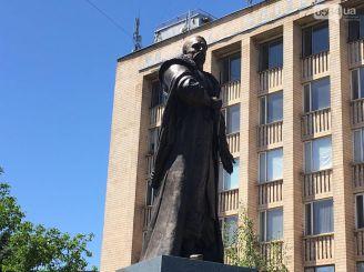 В Кривом Роге установили памятник атаману Запорожской Сечи