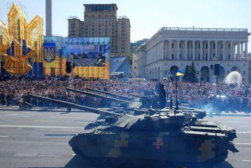 Война и мир. Как прошел День Независимости Украины 2018 в Киеве