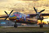 Арт-самолет украсил Жуляны