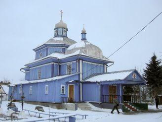 Георгіївська церква, Кутрів