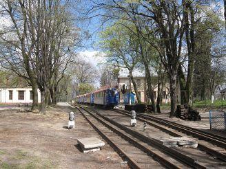 Детская железная дорога, Львов