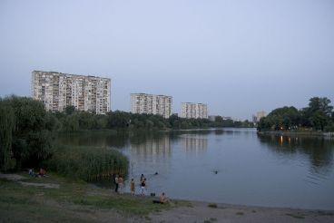 Озеро Тельбін, Київ