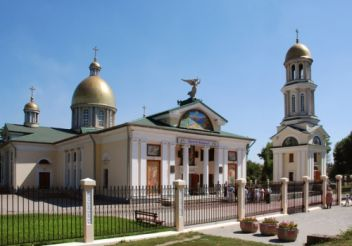 St. Andrew`s Cathedral, Zaporozhye