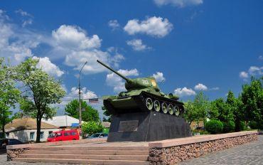 Памятник воинам-танкистам освободителям Николаевщины