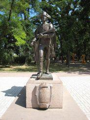 Памятник Михаилу Фалееву