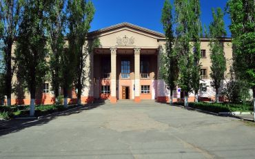 House of Culture and Science University Nikolaev railway