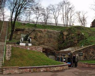 Оборонный подземный городок, Коростень