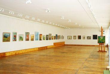 The Enerhodar Art Exhibit Room
