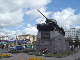 Танк на площі Перемоги, Житомир