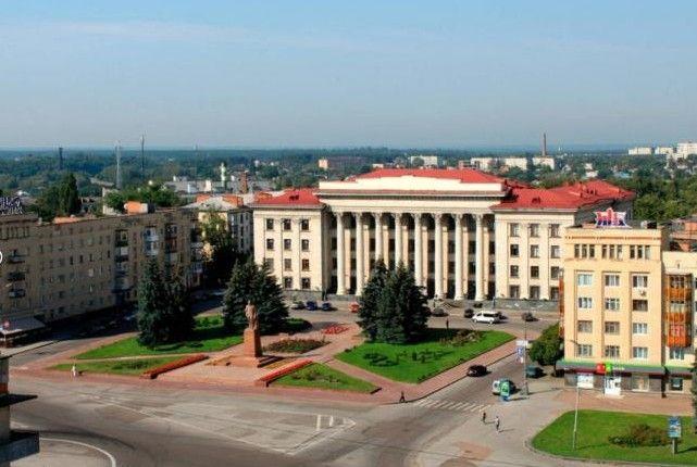 Соборная площадь, Житомир — фото, описание, карта