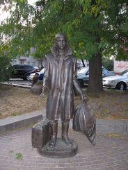 Cкульптура «Ларіосік з Житомира», Житомир