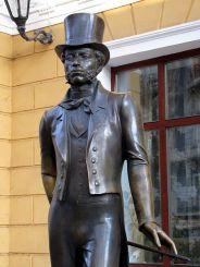 Памятник-скульптура Пушкину, Одесса
