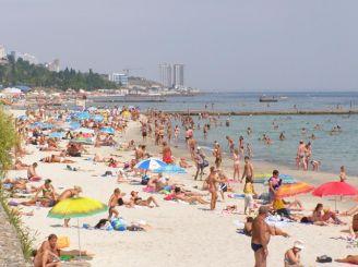 Пляж «Золотой берег», Одесса