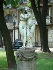 Sculpture of Cupid and Psyche