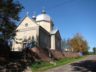 Церковь Святой Параскевы, Устечко