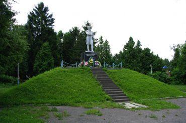 Памятник Шевченко, Почаев