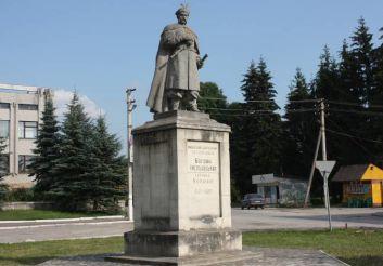 Памятник Богдану Хмельницкому, Збараж
