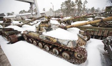 Кладбище танков